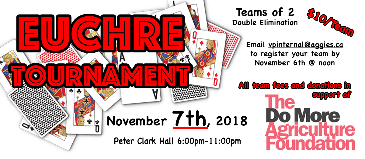 Euchre Tournament in Support of Do More Ag – AGGIES CA